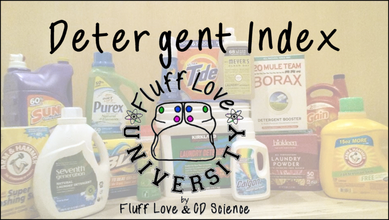 Detergent Index Fluff Love University Fluff Love University