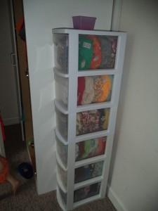 Fluff storage 8