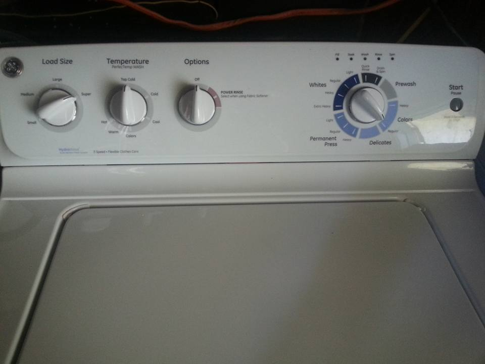 ge g154 washing machine