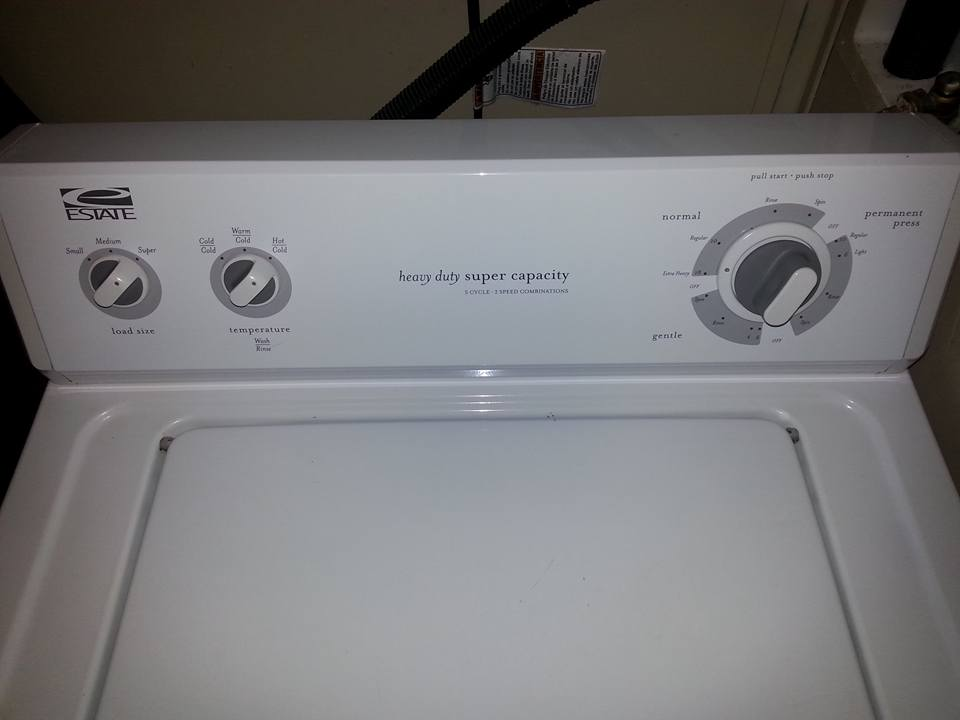 Whirlpool Estate Washer Dryer Reviews Estate Dryer By