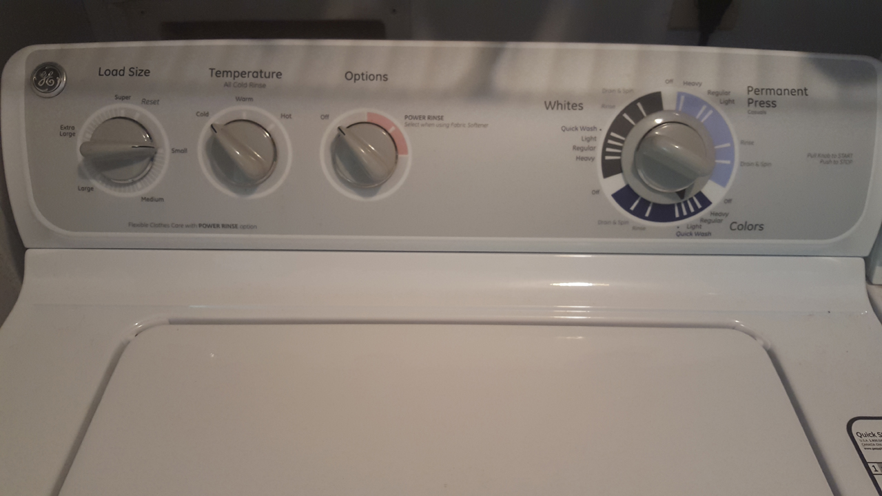 ge profile washer motor reset